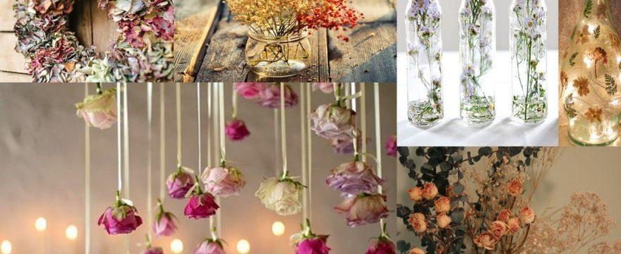 Flores secas para manualidades